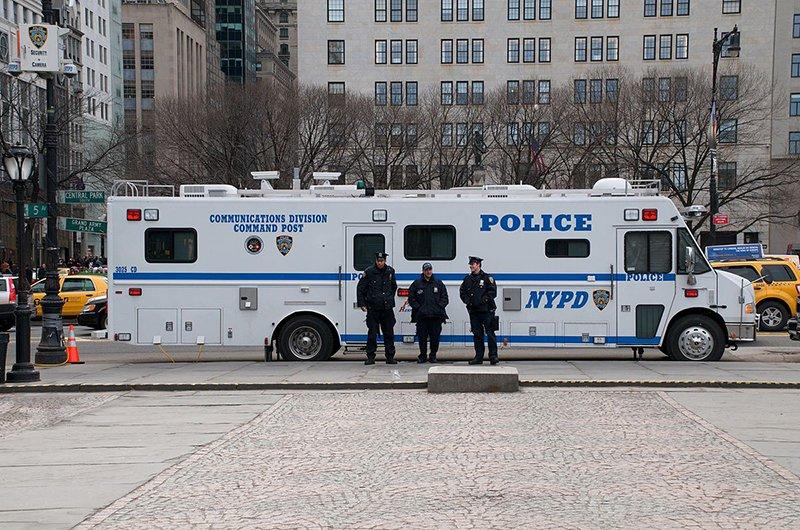 NYPD command van
