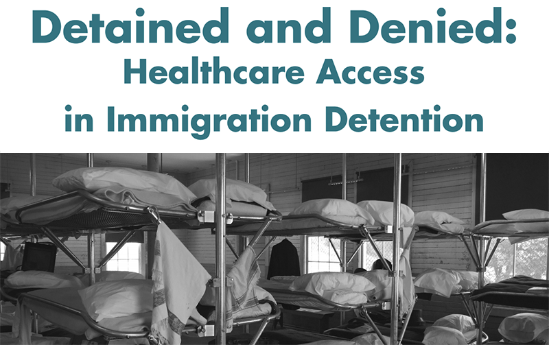 WNYC quotes NYLPI: ICE Detainees In Newark Allege Poor Medical Care And Mistreatment