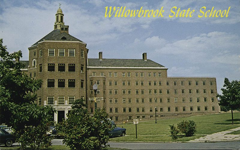 Willowbrook State School Postcard from the 1970s