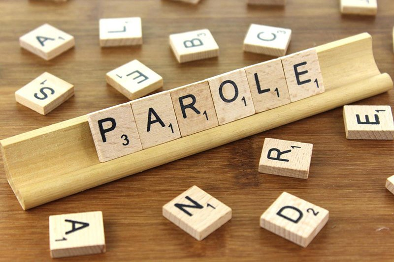 "Tiles spelling the word ""Parole"""