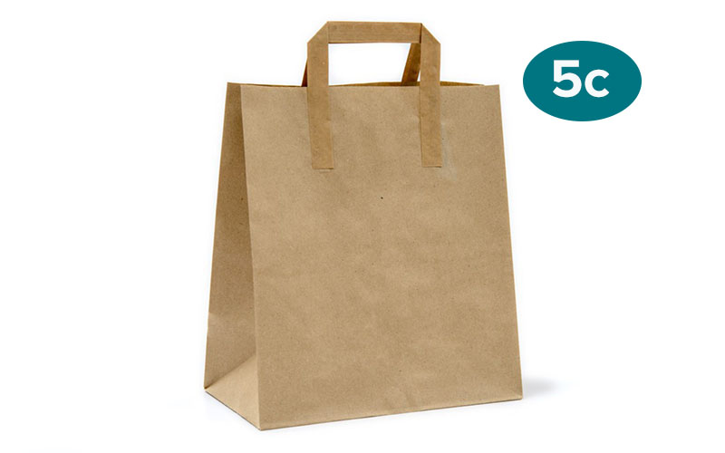 We Support NYC's Proposed 5-Cent-Fee on Single Use Paper Carryout Bags