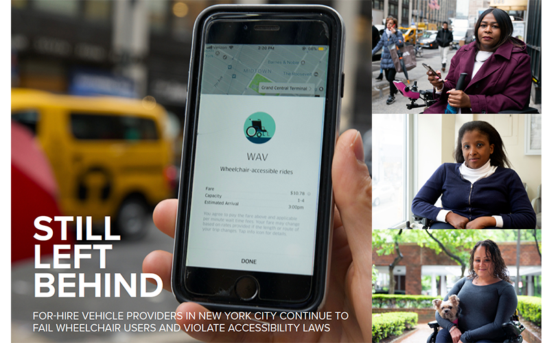 STILL LEFT BEHIND: Apps Continue To Fail New York's Wheelchair Users Despite Raising Billions