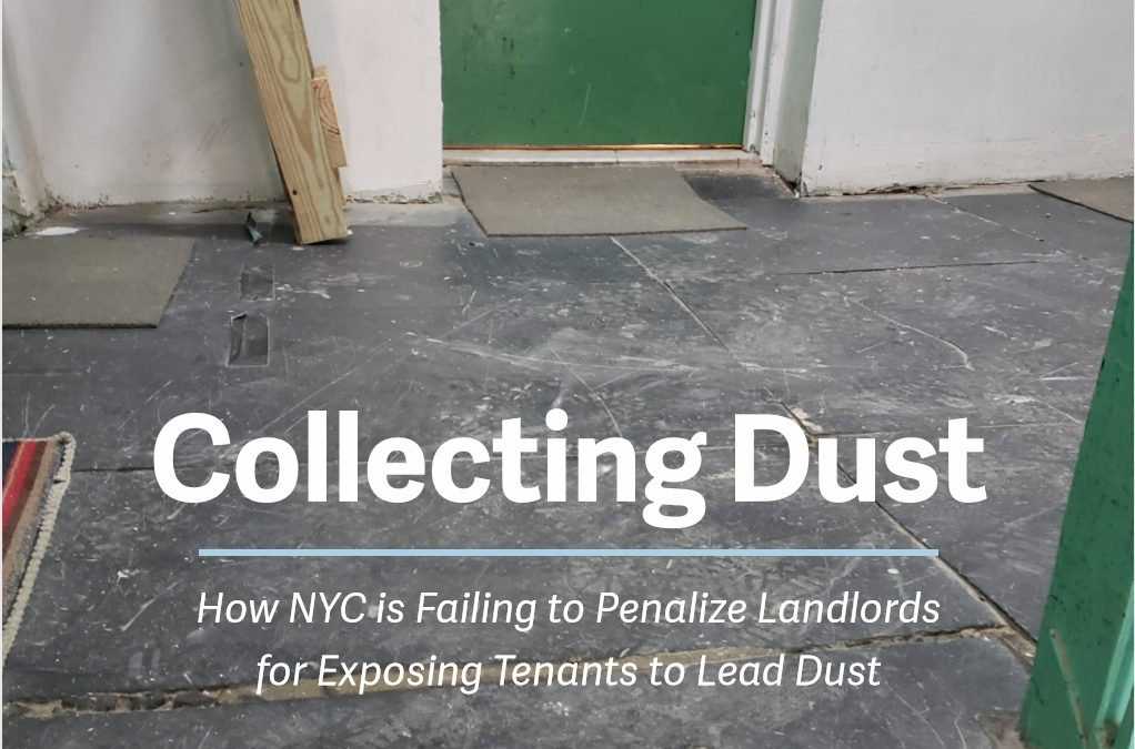 New Report, Collecting Dust: How NYC is Failing to Penalize Landlords for Exposing Tenants to Lead Dust