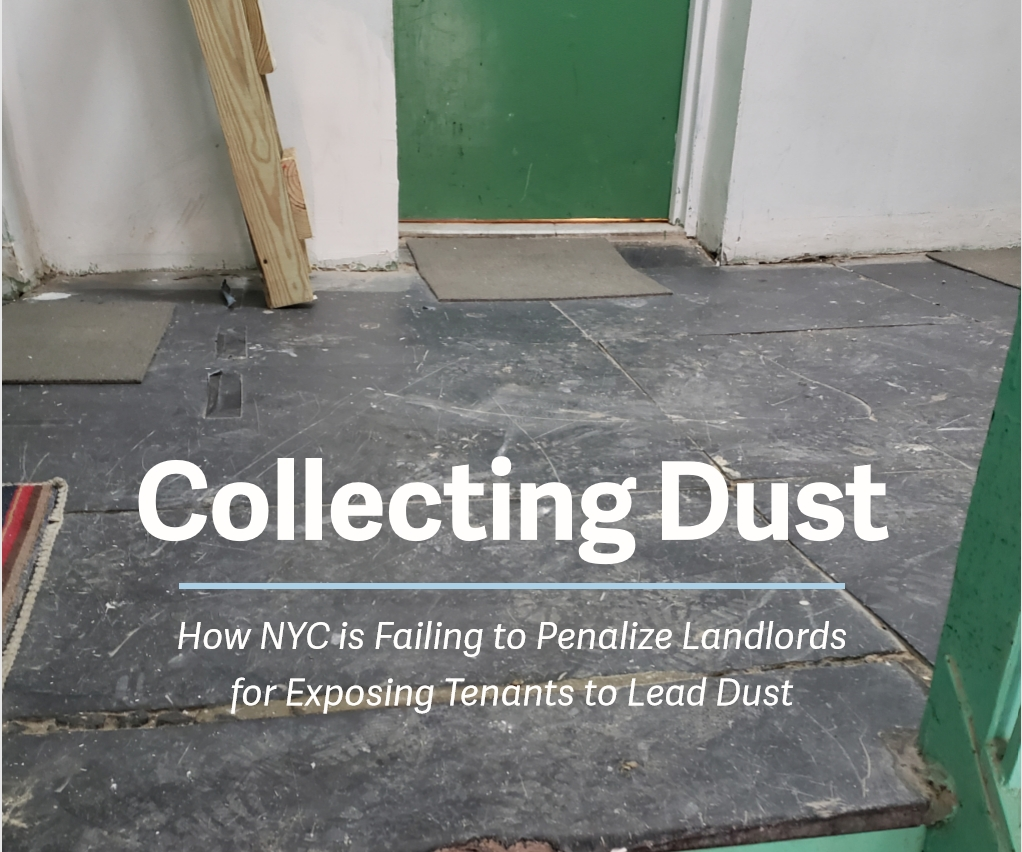 Collecting Dust: How NYC is Failing to Penalize Landlords for Exposing Tenants to Lead Dust cover page