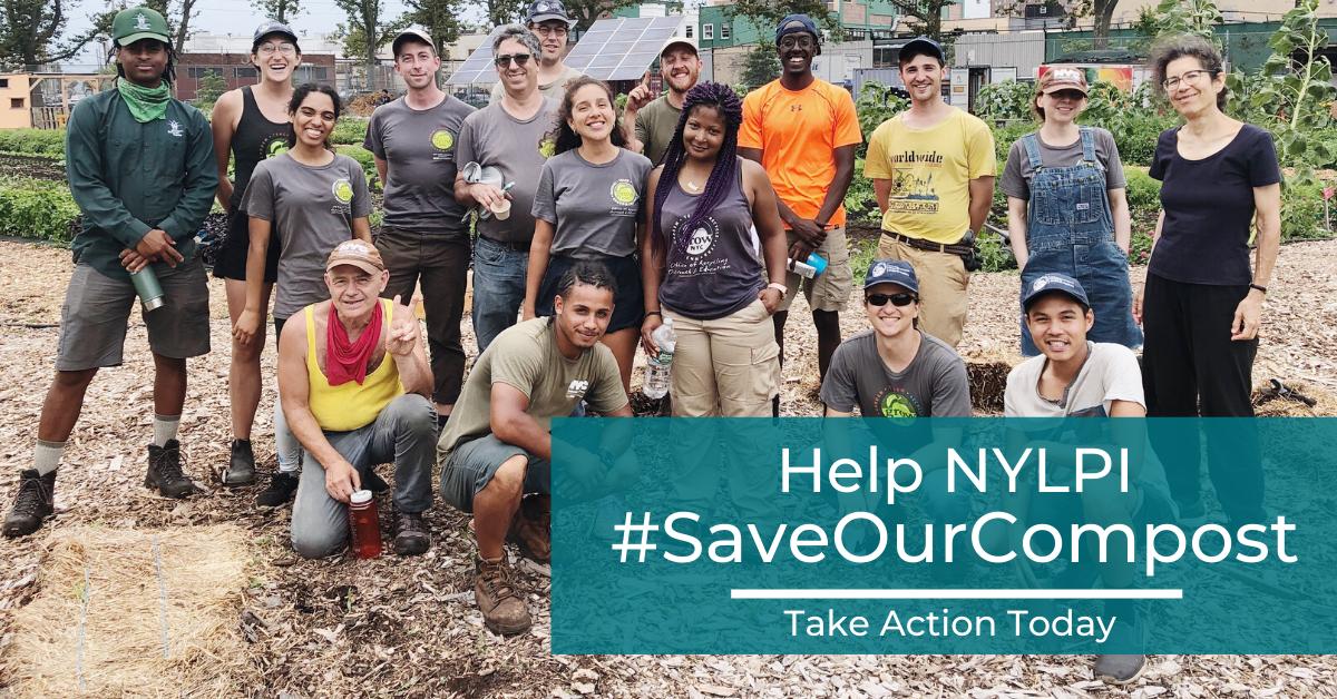 #SaveOurCompost group photo